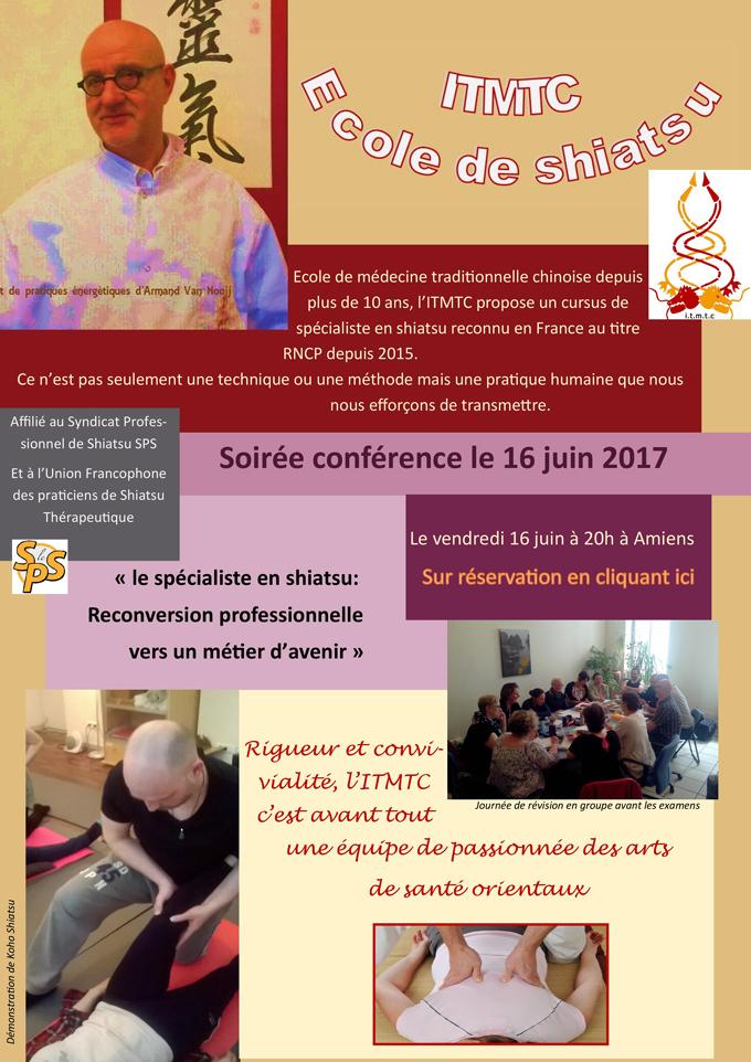 Soirée Conférence : Le Spécialiste en Shiatsu, Reconversion Professionnelle vers un Métier d'Avenir