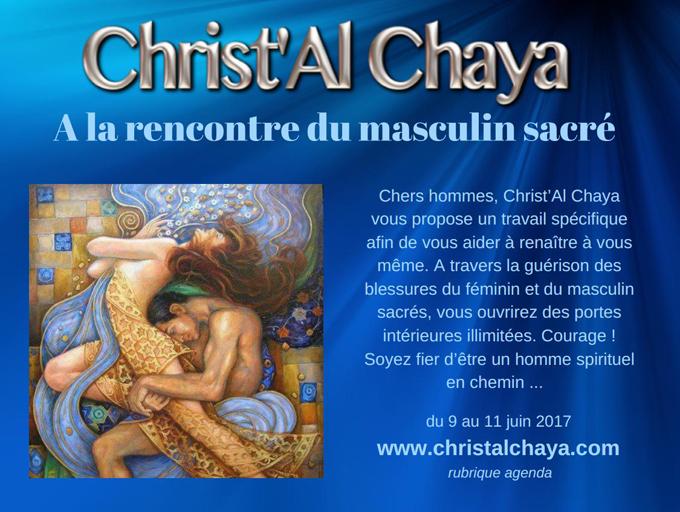 Christ'Al Chaya : à la renconntre du masculin sacré