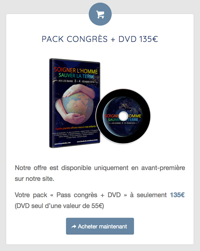 Pack DVD Congres Sens et Symboles