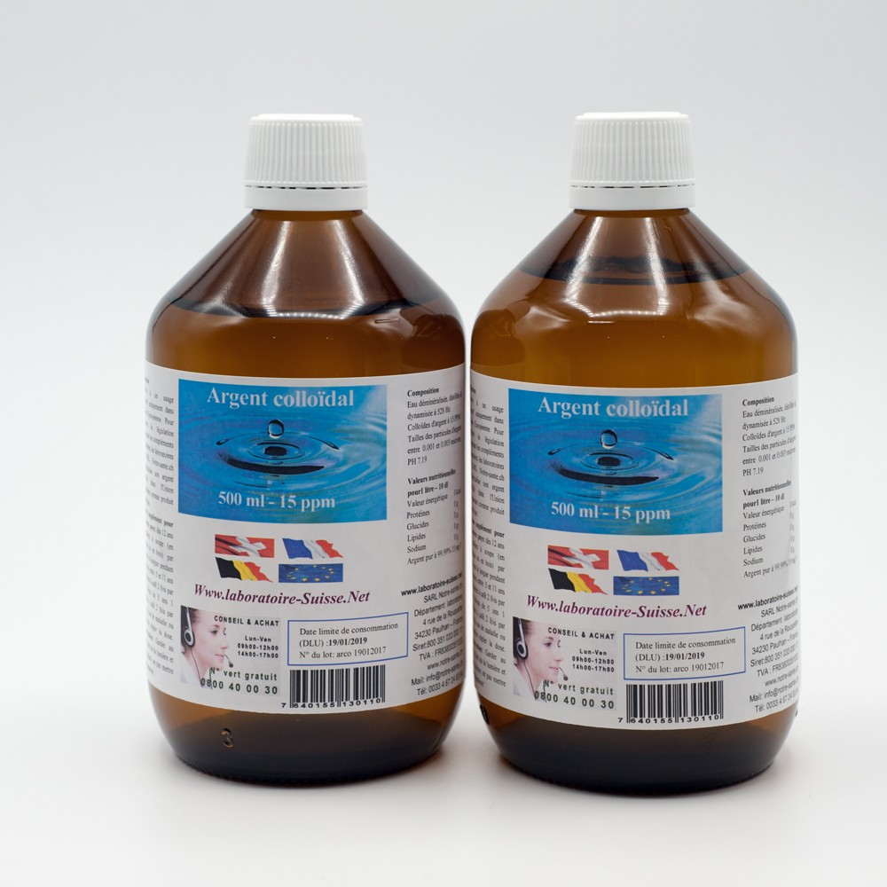 agent colloidal flacon