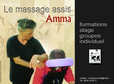 No-Stress Today, Formation Amma (massage sur chaise)
